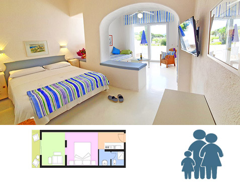 Ischia Studio Apartment Villa BB