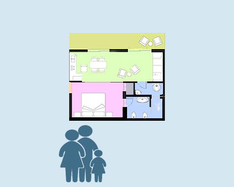 Apartment Room Tipo C Prestige Ischia