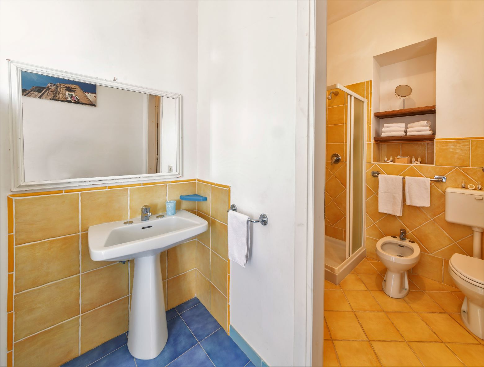 Ischia Room Apartment BB Self catering terrace